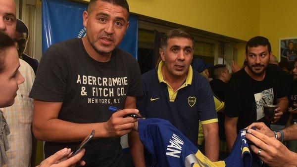 """Riquelme, recargado por la campaña en Boca: """"Es el momento de volver a nuestro club"""""""