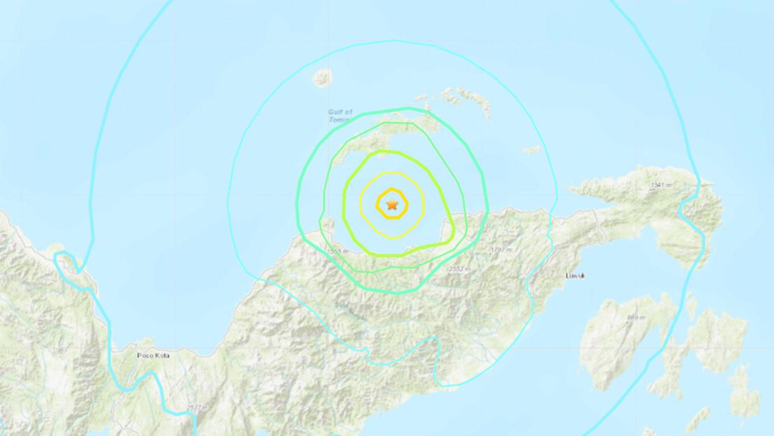 se-registro-un-sismo-de-6,2-frente-a-las-costas-de-indonesia
