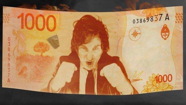 se-vendio-el-video-nft-de-milei-incendiando-el-banco-central:-12-mil-dolares